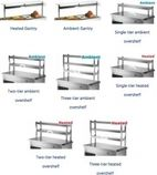 1200mm Stainless Steel Chef Rack