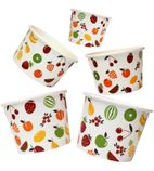 3oz Wax Ice Cream Cups (Pack of 1000) 3OZ-WAX-ICE-CREAM-CUPS