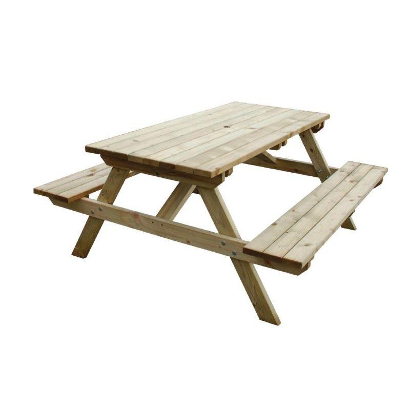 Rowlinson Cg095 Picnic Benches Cas, Rowlinson Round Picnic Table