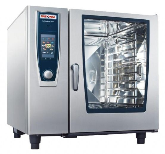 Rational Scc102g N 10 Grid Gas Combination Ovens Steamers Cas