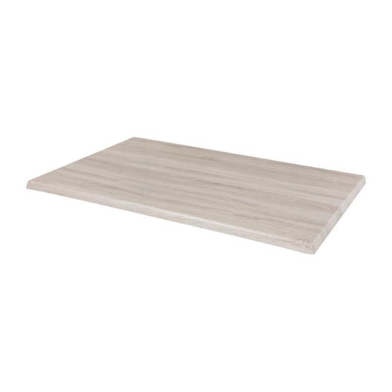 Bolero Pre-drilled Rectangular Table Top