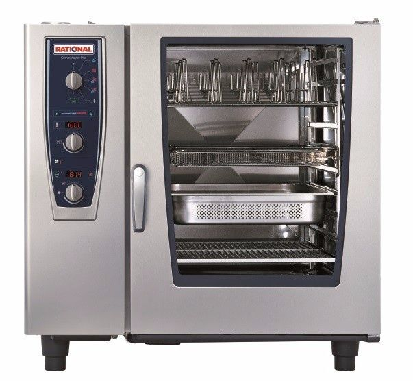 Rational Cmp102e 10 Grid Electric Combination Ovens Steamers Cas