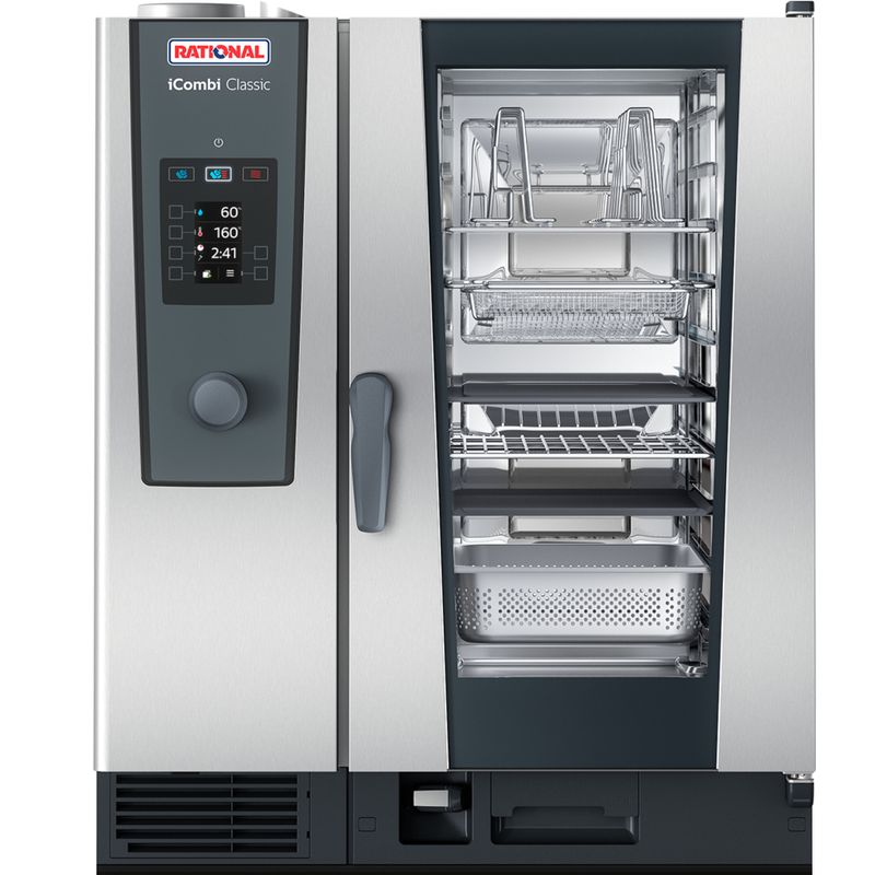 Rational Icombi Classic 10 1 1 E 10 Grid 1 1gn Electric Combination Oven