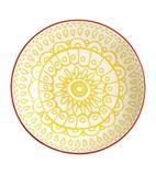 Fresca Flat Bowls Yellow 195mm