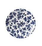 Churchill Vintage Prints Georgian Saucer Blue 141mm - GL473