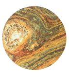 Werzalit Round Table Top Rusty 600mm - GM428