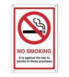 G537 No Smoking Premises Sign