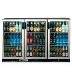 ZXS3 330 Ltr Triple Door Bottle Cooler