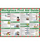 L418 First Aid Guide For Workplace Poster