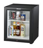 BMB30G 30 Ltr Silent Glass Door Hotel Mini Bar
