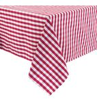 Gingham Tablecloth Red 1320 x 1320mm