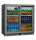 SP2HC-GS 192 Ltr Double Door Sliding Bottle Cooler