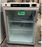 HG200SS 170 Ltr Single Glass Door Undercounter Display Fridge - Graded