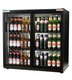 EcoChill RVC10001 182 Ltr Double Door Sliding Bottle Cooler