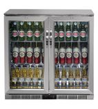 GL008 208 Ltr Double Hinged Door Bottle Cooler