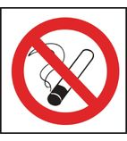 L964 No Smoking Symbol Sign.