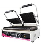 CGS2R Double Ribbed Contact Grill