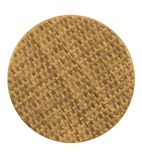 Werzalit Round Table Top Natural Rattan 700mm - GR624