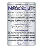 Y926 Under Age Drinking Sign