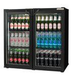 RPC00001 182 Ltr Double Door Hinged Bottle Cooler