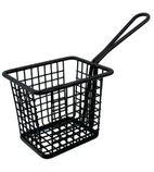 Mini Square Fryer Basket Black - CL472
