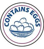 Food Allergen Label Egg - GM801