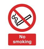 W391 No Smoking Symbol Sign