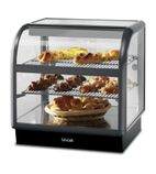Seal 650 Series C6A/75B Counter-top Curved Front Ambient Merchandiser (Back-Service) - M874