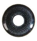 Churchill Studio Prints Charcoal Black Espresso Saucer 118mm - DM436