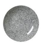 Ink Crackle Black Coupe Bowls 253mm
