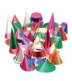 GE917 Starshine Adult Party Hats - Pack Quantity 72