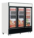 LGF7500 2050 Ltr Glass Door Display Freezer
