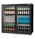 Maxi RQC10001 233 Ltr Double Door Sliding Bottle Cooler