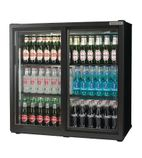 RPC10001 182 Ltr Double Door Sliding Bottle Cooler